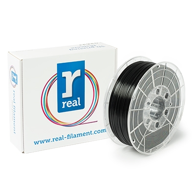 REAL PETG - Black - Spool of 1Kg - 1.75mm