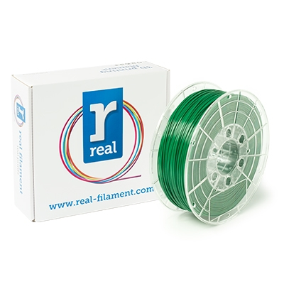 REAL PETG - Green - Spool of 1Kg - 1.75mm