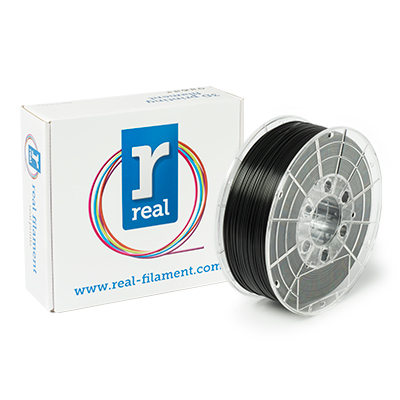 REAL PLA - Black - spool of 1Kg - 1.75mm