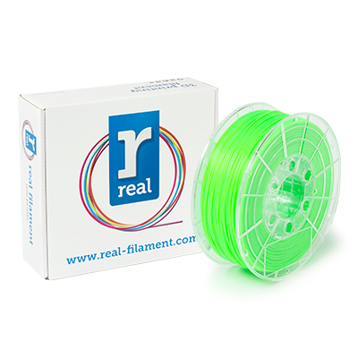 REAL PLA - Fluorescent Green - spool of 1Kg - 1.75mm