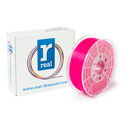 REAL PLA - Fluorescent Pink - spool of 1Kg - 1.75mm