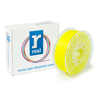REAL PLA - Fluorescent Yellow - spool of 1Kg - 1.75mm