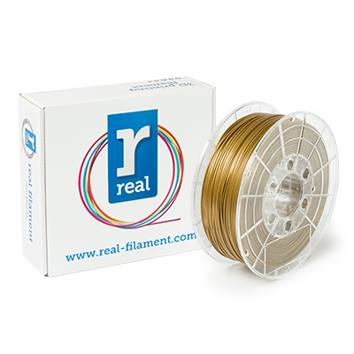 REAL PLA - Gold - spool of 1Kg - 1.75mm