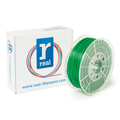 REAL PLA - Green - spool of 1Kg - 1.75mm