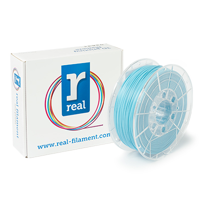 REAL PLA - Light Blue - spool of 1Kg - 1.75mm