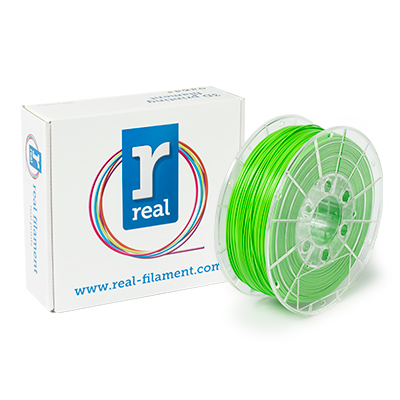 REAL PLA - Nuclear Green - spool of 1Kg - 1.75mm