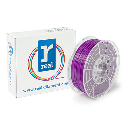 REAL PLA - Purple - spool of 1Kg - 1.75mm